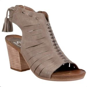 Miz Mooz Maddie Heeled Sandals Size 39/9